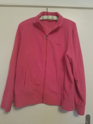 Puma Fleece Jackets pink