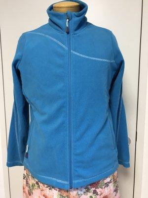 Tchibo / TCM Fleece Jackets light blue polyester