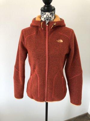 The North Face Fleece Jackets orange-dark orange