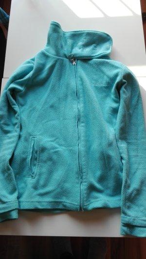 Madonna Fleece Jackets turquoise-light blue polyester