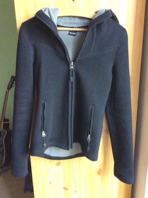 Bench Veste polaire noir-argenté tissu mixte