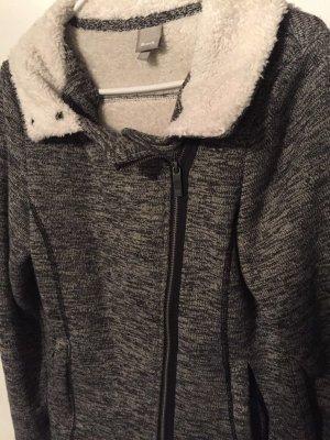 Bench Fleece Jackets dark grey-light grey