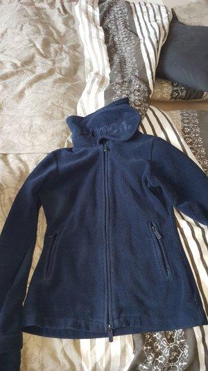 Bench Fleece jack blauw-donkerblauw