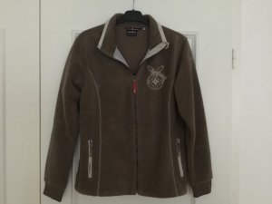 Icepeak Fleece Jackets light brown polyester