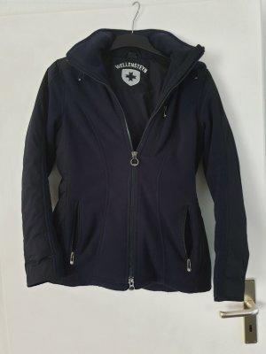Wellensteyn Chaqueta con capucha azul oscuro