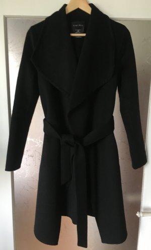 Amisu Fleece jas zwart