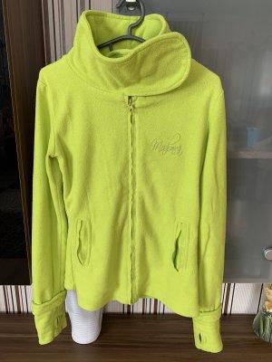 Madonna Fleece Jumper neon green