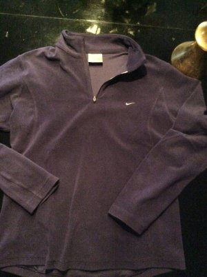 Nike Fleece trui lila Synthetische vezel