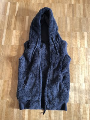 Fleece vest antraciet Polyester