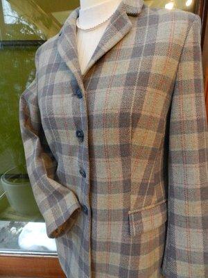 Flick Blazer kariert - tailliert -mehrfarbig - Schurwolle Gr.40  sehr gut