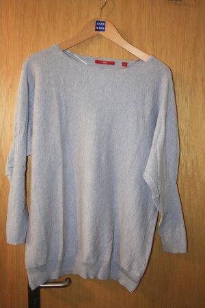 Flieder Blauer dünner Pullover