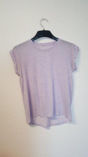 flieder t-shirt/durchsichtig