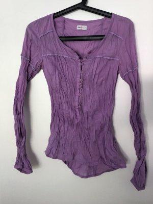 Fliederfarbene Bluse von ONLY ECO; Größe XS