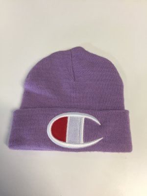 Champion Beanie purple synthetic fibre