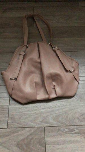 Fliederfarbene Handtasche / Tasche