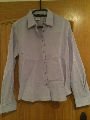 fliederfarbene hochwertige Bluse von Weekend Max Mara - Gr. XL