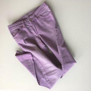 Fliederfarbene pastell-lila Jeans von s.Oliver in Gr. 34/36