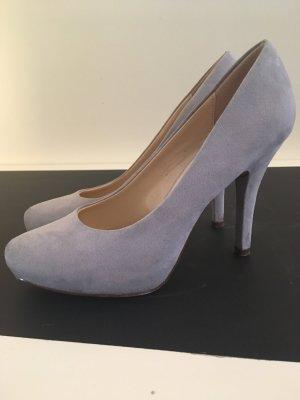 Graceland Chaussure à talons carrés rose clair-mauve