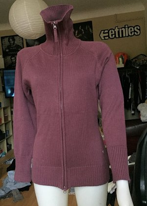 Fliederfarbene Strickjacke C&A S/M
