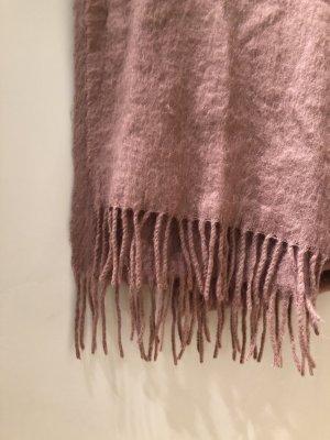 Asos Bufanda de flecos lila grisáceo-malva