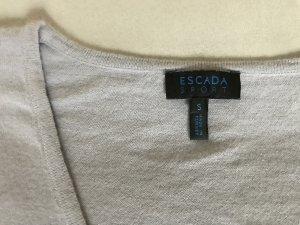 Fliederfarbener V-Pulli von ESCADA Sport, Sommer wie Winter zu tragen