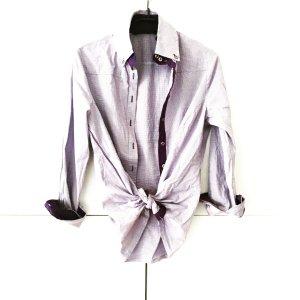 fliederfarbenes hemd true vintage