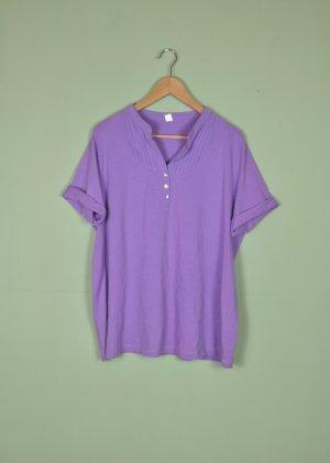 Camisa violeta azulado-púrpura