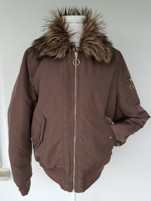 H&M Divided Flight Jacket bronze-colored