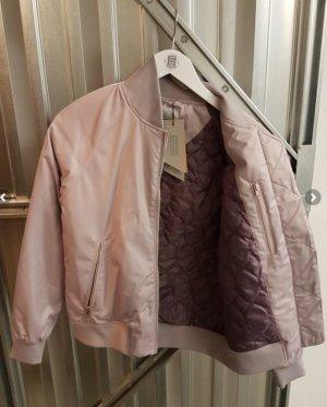 Elvine Flight Jacket dusky pink