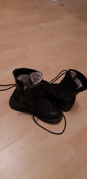 Botas de combate negro