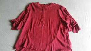 Fließende Bluse in der Farbe Rot