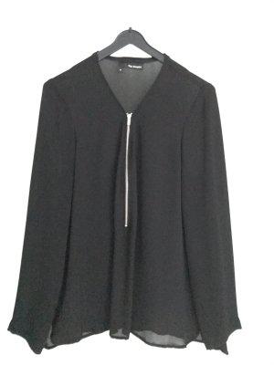Fließende Bluse mit Reißverschluss von The Kooples