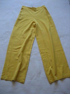 Zara Palazzo Pants yellow