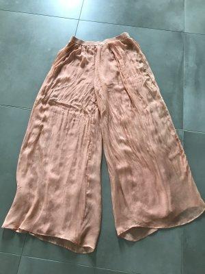 Pantalone Marlene albicocca Seta