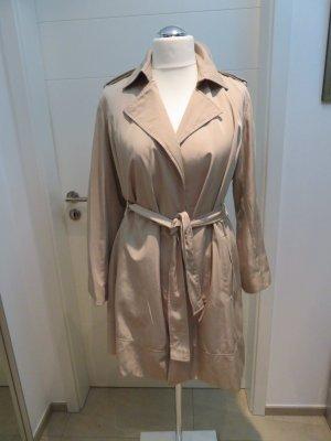 Fliessender Trechcoat in beige von Zara in XL Mantel Uebergangsmantel