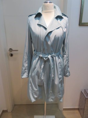 Zara Trench Coat baby blue
