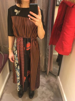 Dixie Maxi Dress red-black