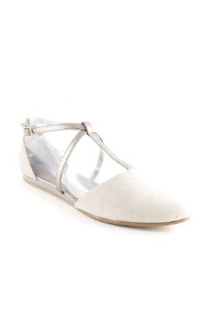 Flip*flop Ballerinas mit Spitze hellgrau Casual-Look