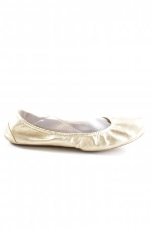 Flip*flop Ballerina pieghevole oro stile casual