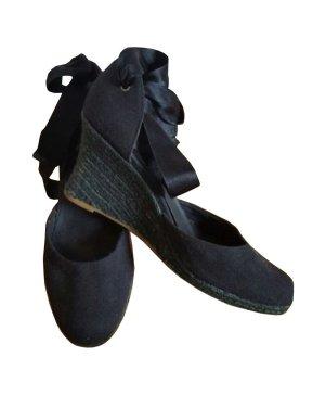 Flip Flop flip*flop Keil Wedges Sandalen Pumos schwarz Gr. 37 neu