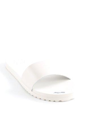 """Flip*flop Flip Flop Sandalen """"shiny gum patent"""" nude"""
