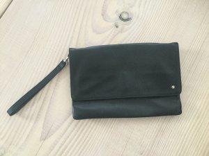 Flip Flop Handtasche - Brieftasche, Pochette, Clutch, Portemonnaie schwarz