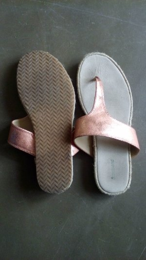Flip Flop in bronzegold