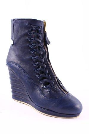 Flip*flop Keil-Stiefeletten dunkelblau Street-Fashion-Look