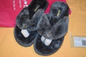 Flip*flop Flip-Flop Sandals multicolored fake fur