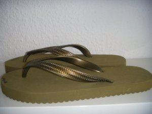 Flip*flop Originals, grün, 38, NEU / FlipFlops grün / moosgrün / army green