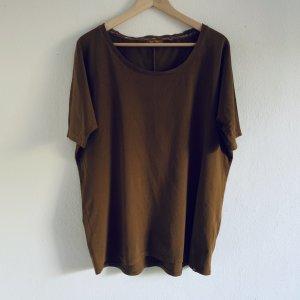flip*flop Oversize Cut Shirt M/L 38/40 kuschelweich braun ocker