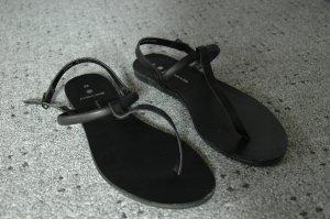 Flip Flop Sandalen von Pieces Größe 38 in schwarz