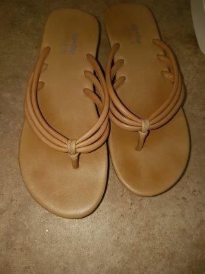 Flip*flop Sandalias con talón descubierto color bronce-marrón grisáceo