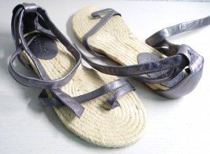 flip*flop Schnür-Sandalen Espadrilles-Stil